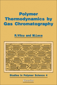 Cover image for Polymer Thermodynamics by Gas Chromatography