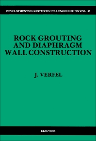 Cover image for Rock Grouting and Diaphragm Wall Construction
