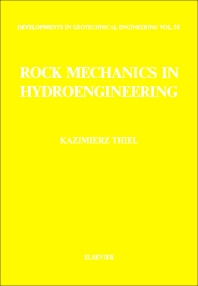 Cover image for Rock Mechanics in Hydroengineering