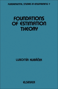 Cover image for Foundations of Estimation Theory