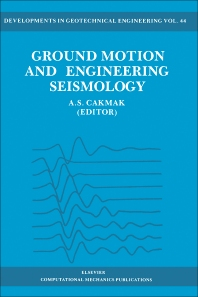 Ground Motion and Engineering Seismology - 1st Edition - ISBN: 9780444989567, 9780444600462