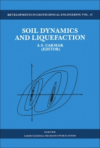Soil Dynamics and Liquefaction - 1st Edition - ISBN: 9780444989581, 9780444597496