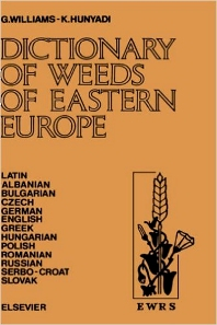 Cover image for Dictionary of Weeds of Eastern Europe