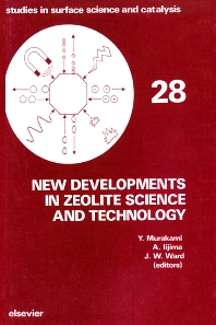 Cover image for New Developments in Zeolite Science and Technology