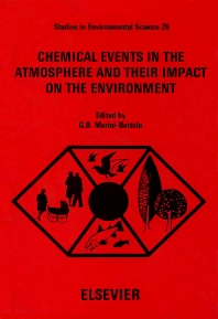 Cover image for Chemical Events in the Atmosphere and their Impact on the Environment