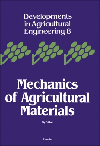 Cover image for Mechanics of Agricultural Materials