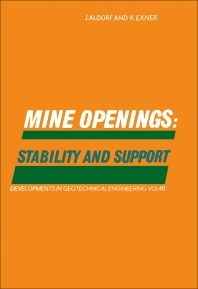Cover image for Mine Openings: Stability and Support