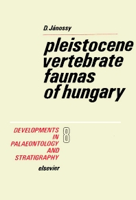 Cover image for Pleistocene Vertebrate Faunas of Hungary