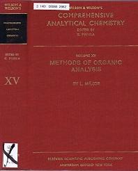 Methods of Organic Analysis - 1st Edition - ISBN: 9780444997043