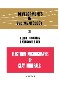 Cover image for Electron micrographs of clay minerals
