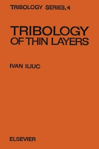 Cover image for Tribology of Thin Layers