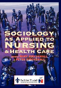 Cover image for Sociology as Applied to Nursing and Health Care
