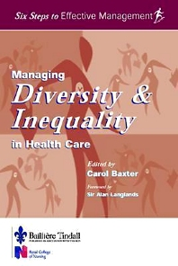 Cover image for Managing Diversity & Inequality in Health Care