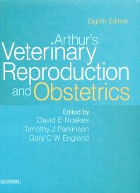 Cover image for Arthur's Veterinary Reproduction and Obstetrics