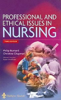 Cover image for Professional and Ethical Issues in Nursing