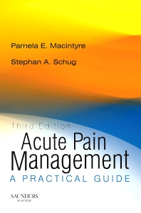 Acute Pain Management - Rights Reverted - 3rd Edition - ISBN: 9780702027703