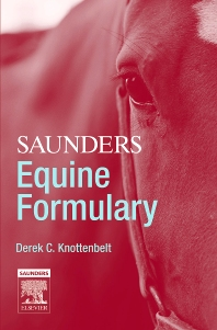 Saunders Equine Formulary - 1st Edition - ISBN: 9780702039881