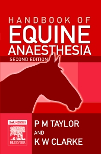 Cover image for Handbook of Equine Anaesthesia