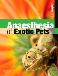 Cover image for Anaesthesia of Exotic Pets