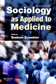 Cover image for Sociology as Applied to Medicine