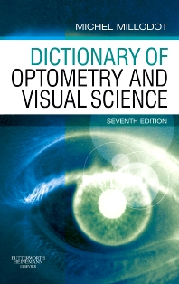 Cover image for Dictionary of Optometry and Visual Science