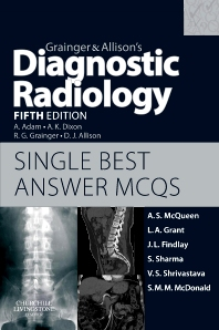 Cover image for Grainger & Allison's Diagnostic Radiology 5th Edition Single Best Answer MCQs