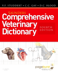 Cover image for Saunders Comprehensive Veterinary Dictionary
