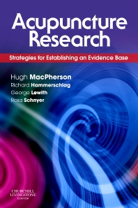 E-Book - Acupuncture Research, 1st Edition,Hugh MacPherson,George Lewith,Rosa Schnyer,ISBN9780702032905