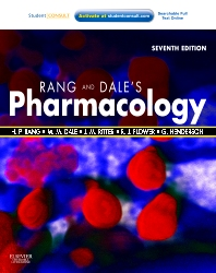 Rang & Dale's Pharmacology, 7th Edition,Humphrey Rang,James Ritter,Rod Flower,Graeme Henderson,ISBN9780702034718