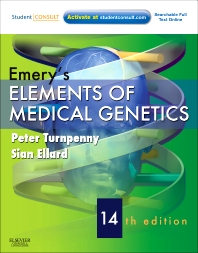 Cover image for Emery's Elements of Medical Genetics