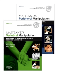 Cover image for Maitland's Vertebral Manipulation, Volume 1, 8e and Maitland's Peripheral Manipulation, Volume 2, 5e (2-Volume Set)