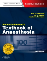 Cover image for Smith and Aitkenhead's Textbook of Anaesthesia