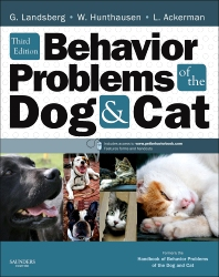 Cover image for Behavior Problems of the Dog and Cat