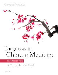 Cover image for Diagnosis in Chinese Medicine