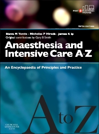 Cover image for Anaesthesia and Intensive Care A-Z - Print & E-Book