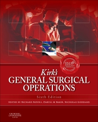 Cover image for Kirk's General Surgical Operations
