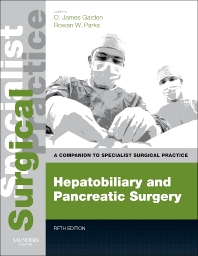 Cover image for Hepatobiliary and Pancreatic Surgery - Print and E-Book