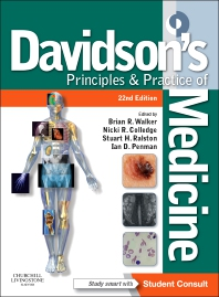 Davidson's Principles and Practice of Medicine - 22nd Edition - ISBN: 9780702050350, 9780702067075