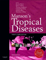 Manson's Tropical Diseases, 23rd Edition,Jeremy Farrar,Peter Hotez,Thomas Junghanss,Gagandeep Kang,David Lalloo,Nicholas White,ISBN9780702051012