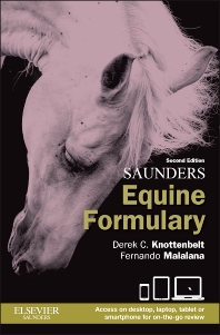 Saunders Equine Formulary - 2nd Edition - ISBN: 9780702051098, 9780702063312