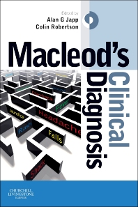 Macleod's Clinical Diagnosis E-Book, 1st Edition,Alan Japp,Colin Robertson,ISBN9780702051227