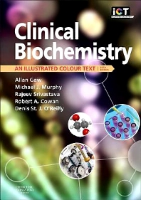 Clinical Biochemistry, 5th Edition,Allan Gaw,Michael Murphy,Rajeev Srivastava,Robert Cowan,Denis O'Reilly,ISBN9780702051791