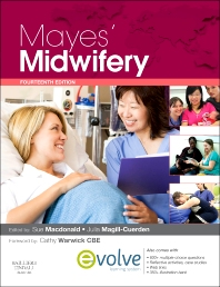 Mayes' Midwifery: A Textbook for Midwives, 14th Edition,Sue Macdonald,ISBN9780702052330