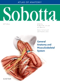 Cover image for Sobotta Atlas of Anatomy, Vol.1, 16th ed., English/Latin