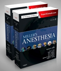 Miller's Anesthesia, 2-Volume Set - 8th Edition - ISBN: 9780702052835, 9780323352192