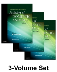 Cover image for Jubb, Kennedy & Palmer's Pathology of Domestic Animals: 3-Volume Set