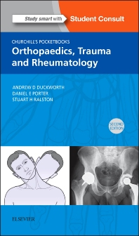 Cover image for Churchill's Pocketbook of Orthopaedics, Trauma and Rheumatology