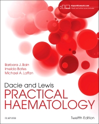 cover of Dacie and Lewis Practical Haematology - 12th Edition