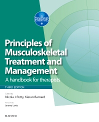 Cover image for Principles of Musculoskeletal Treatment and Management