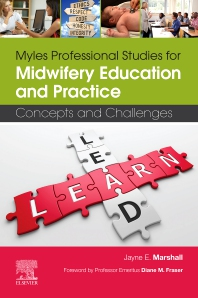 Cover image for Myles Professional Studies for Midwifery Education and Practice